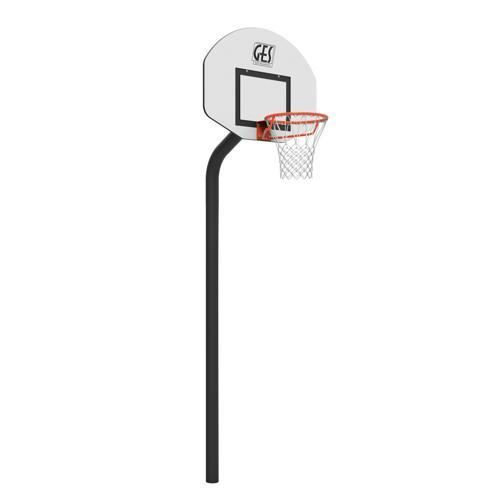 But de basket Rucker Park GES - hauteur 2, 60 m sur platine