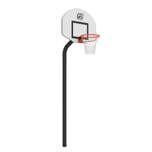 But de basket Rucker Park GES - hauteur 3, 05 m sur platine
