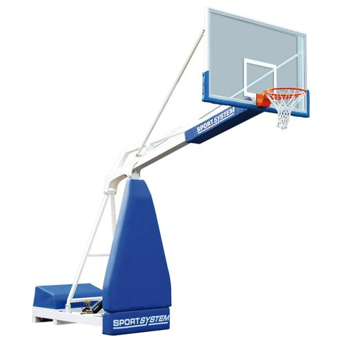 Buts de basket mobiles 2, 25 m homologué FIBA level 3 / La paire