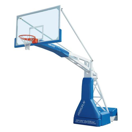 Buts de basket mobiles 3, 25 m homologué FIBA level 1 / La paire