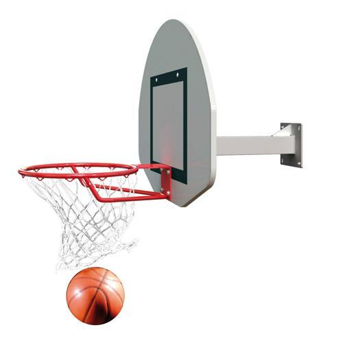 But de basket mural hauteur fixe de 2,60M ou 3, 05m / l'unité