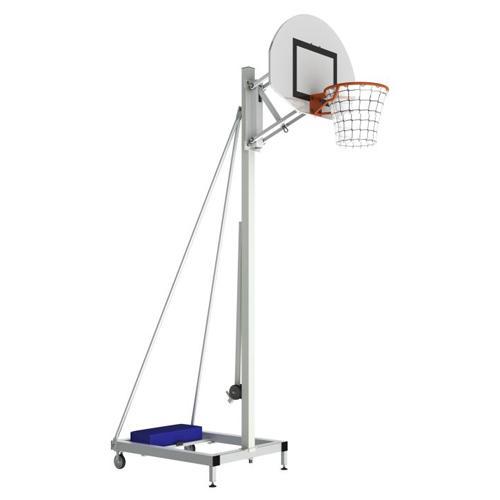 But de basket mobile à hauteur réglable de 2,60m à 3, 05m par système à gaz / l'unité