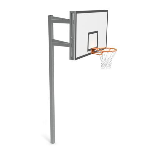 But de basket Toronto, hauteur réglable, panneau PES de dimensions 180 x 105 cm GES
