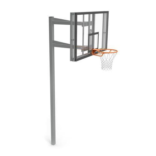 But de basket Toronto, hauteur réglable, panneau Methacrylate de dimensions 180 x 105 cm GES
