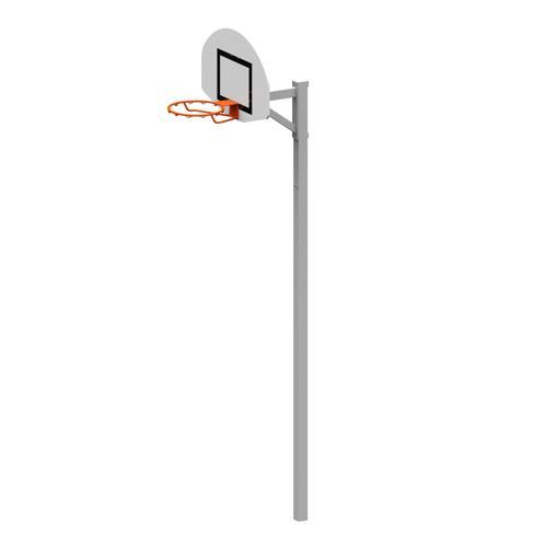 But de basket 2,60m ou 3,05m déport 60 cm à sceller