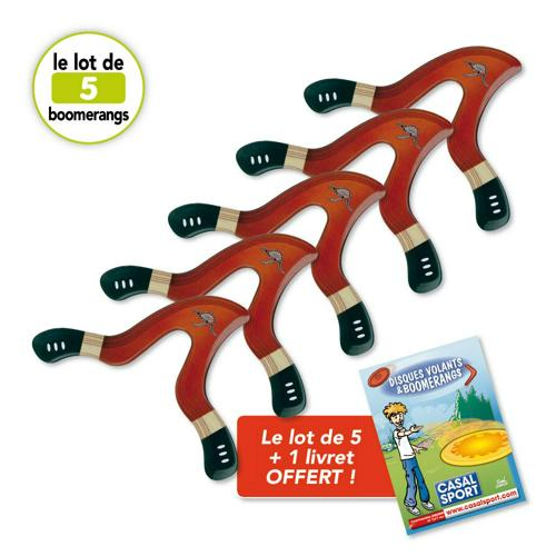 Boomerang Jaguar BBB - lot de 5