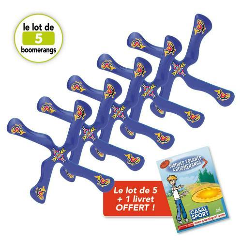 Boomerang Aojie - lot de 5