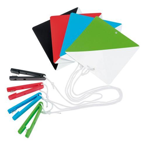 Lot 10 balises + pinces Coloris au choix - Série A à D
