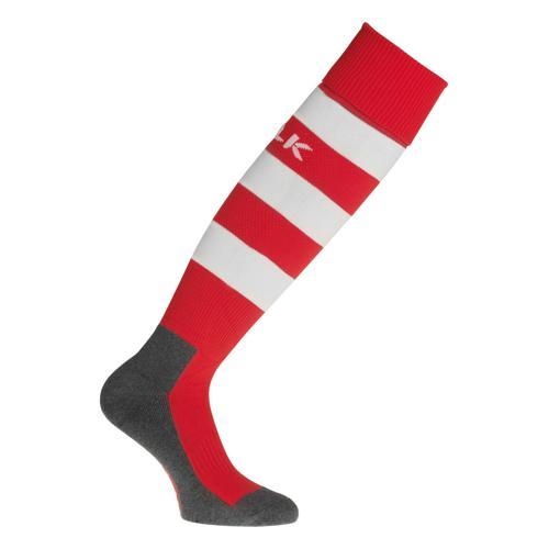 Chaussettes BLK Stripe Rouge/Blanc