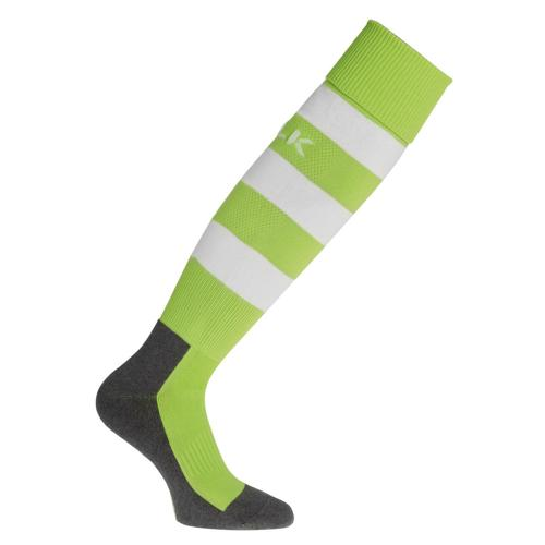 Chaussettes BLK Stripe Vert/Blanc