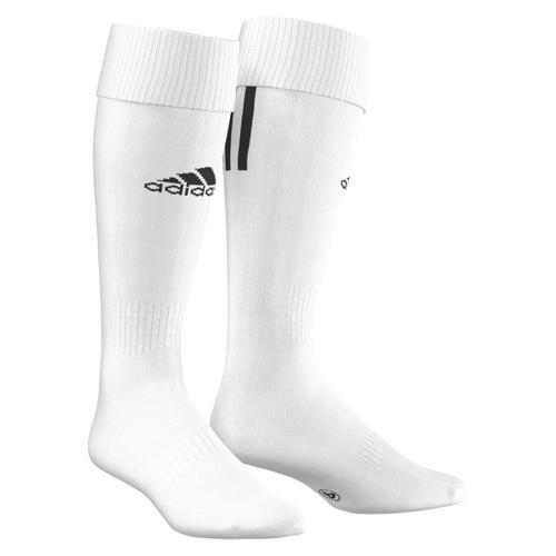 Chaussettes adidas SANTOS 3 STRIPES Blanc/Noir