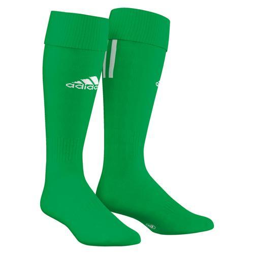 Chaussettes adidas SANTOS 3 STRIPES Vert/Blanc