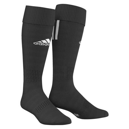 Chaussettes adidas SANTOS 3 STRIPES Noir/Blanc