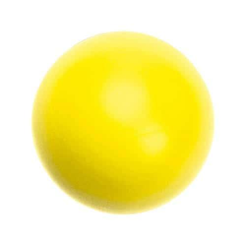Balle mousse dynamique SOFELEF jaune 7cm