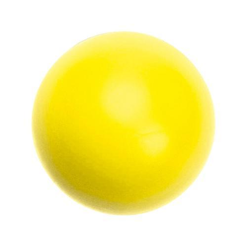 Balle mousse dynamique SOFELEF jaune 20cm