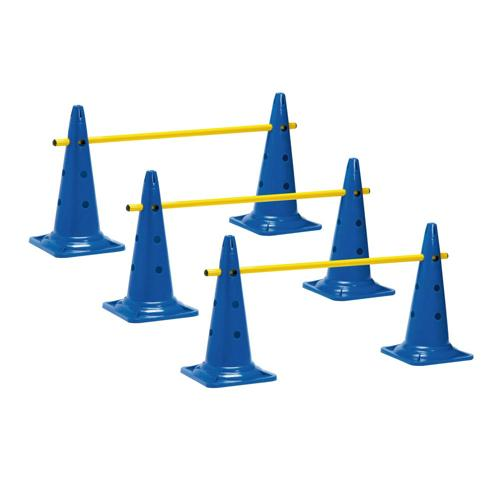 3 MINI-HAIES CONES 50CM