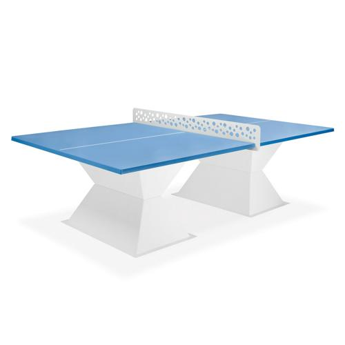 Table de tennis de table Resitech HD35 allweather coins carrés