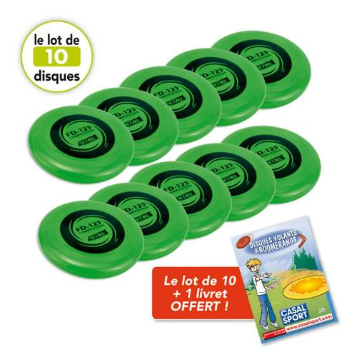 Lot de 10 disques volants FD125