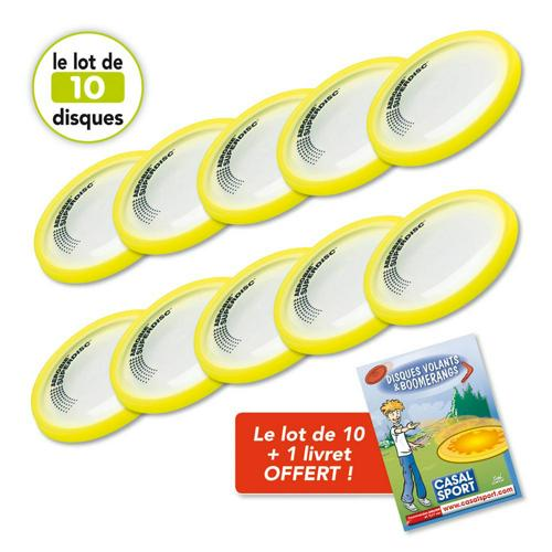 DISQUES VOLANTS SUPERDISC AEROBIE - LOT DE 10