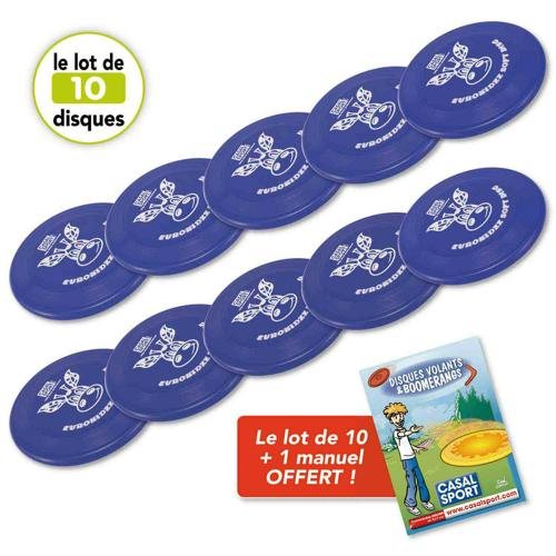 Disques volants Soft 150 Casal Sport - lot de 10
