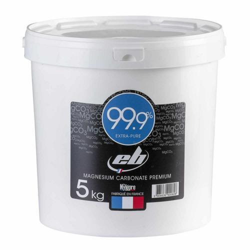Seau 5kg magnésie EB 99,9% extra pure