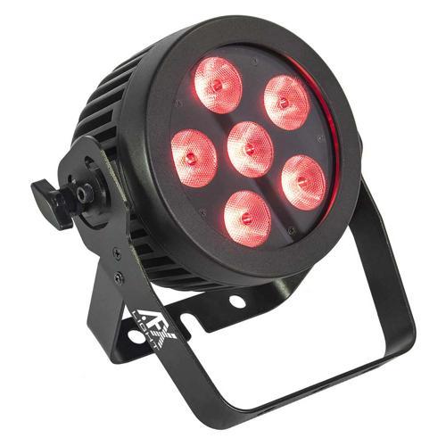 Projecteur professionnel à Led haute luminosité RGBWA+UV 6x12W