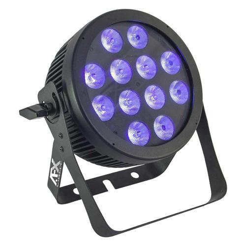 Projecteur professionnel à Led haute luminosité RGBWA+UV 12x12W