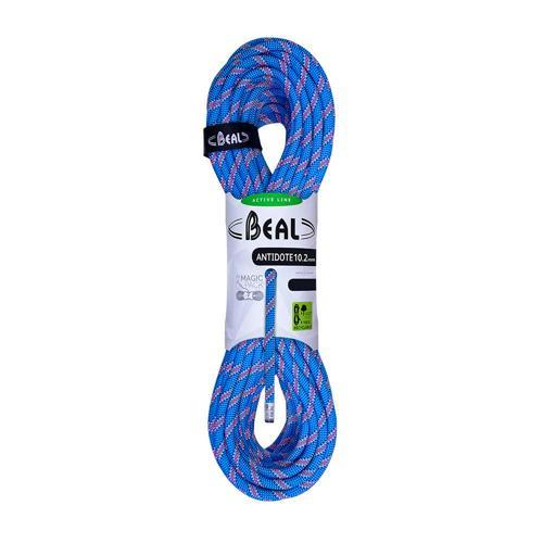 Corde Escalade Beal Antidote diamètre 10,2mm et de longueur 60m Bleu