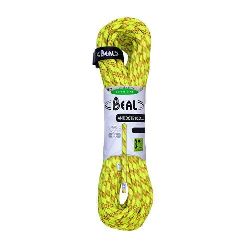 Corde Escalade Beal Antidote diamètre 10,2mm et de longueur 60m Jaune