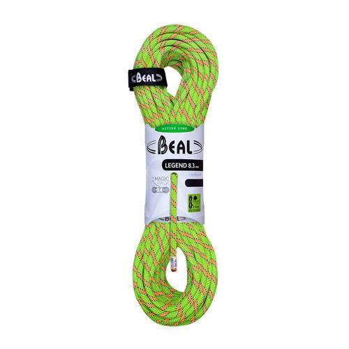 Corde Escalade Beal Legend diamètre 8,3mm et de longueur 60m Vert