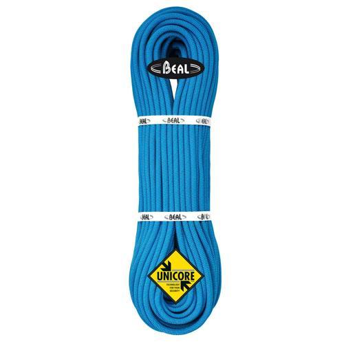 Corde Alpinisme Beal Joker diamètre 9,1mm et de longueur 200m Bleu