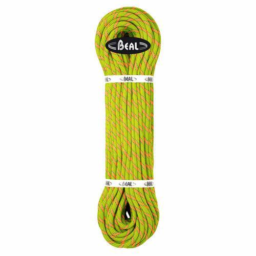 Corde Escalade Beal Stinger III diamètre 9,4mm et de longueur 200m Anis