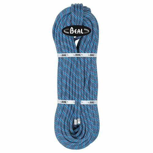 Corde Escalade Beal Flyer diamètre 10,2mm et de longueur 60m Bleu