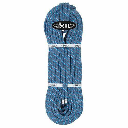 Corde Escalade Beal Flyer diamètre 10,2mm et de longueur 80m Bleu