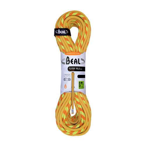 Corde Escalade Beal Flyer diamètre 10,2mm et de longueur 60m Anis