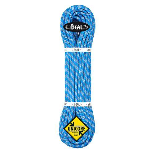 Corde Alpinisme Beal Ice Line diamètre 8,1mm et de longueur 50m Bleu