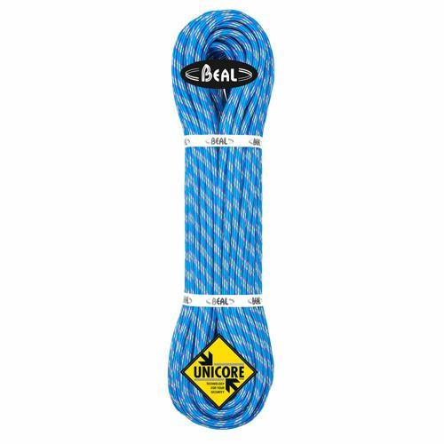 Corde Alpinisme Beal Ice Line diamètre 8,1mm et de longueur 60m Bleu