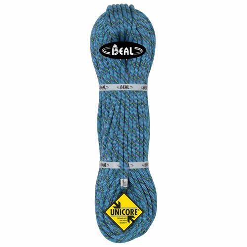 Corde alpinisme Beal Cobra II diamètre 8,6mm et de longueur 200m Bleu