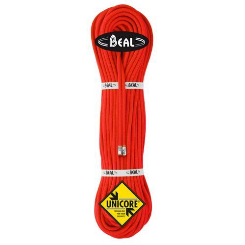 Corde d'alpinisme Beal Gully diamètre 7,3mm, longueur 60m Orange