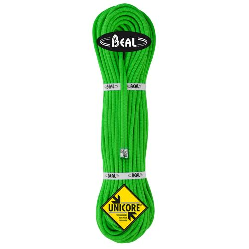 Corde d'alpinisme Beal Gully diamètre 7,3mm, longueur 60m Vert