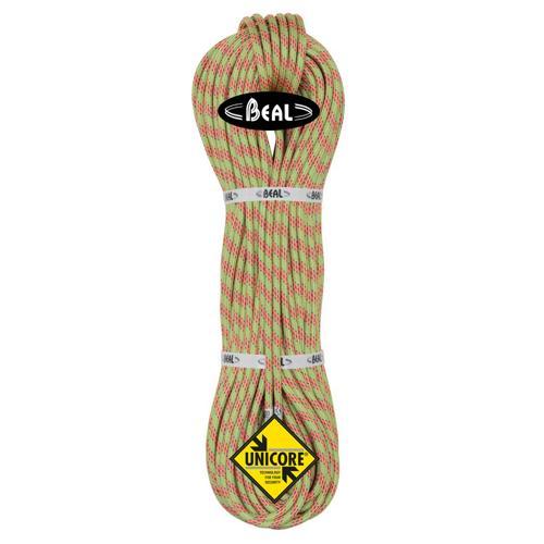 Corde d'alpinisme Beal Ice Line diamètre 8,1mm, longueur 60m Anis