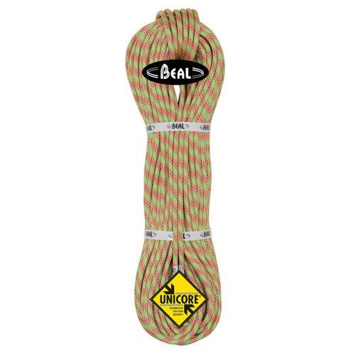 Corde d'alpinisme Beal Ice Line diamètre 8,1mm, longueur 70m Anis