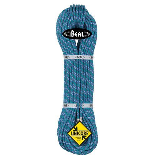 Corde d'alpinisme Beal Ice Line diamètre 8,1mm, longueur 70m Emeraude