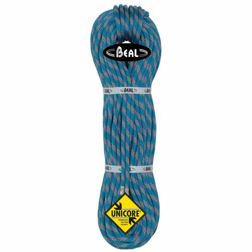 Corde d'alpinisme Beal Cobra II diamètre 8,6mm, longueur 60m Bleu