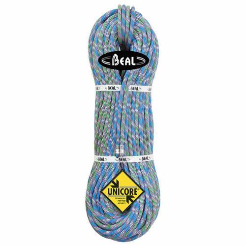 Corde d'alpinisme Beal Cobra II diamètre 8,6mm, longueur 2x50m Bleu-Vert