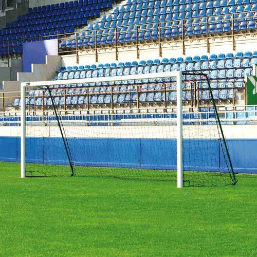 Paire buts de foot à 8 - GES transporables en aluminium