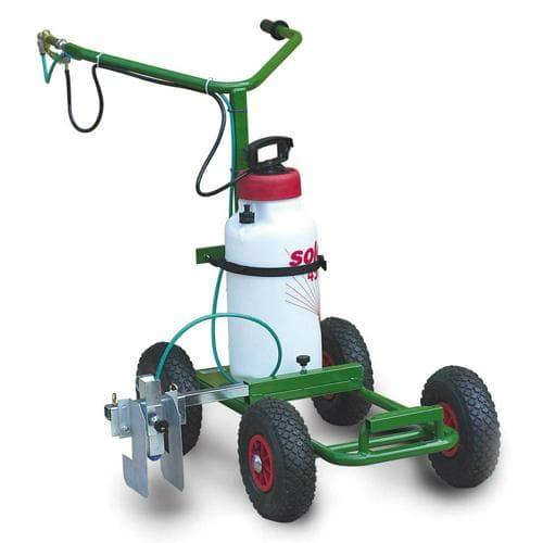 Traceuse de terrain à pompe PRO 8 litres