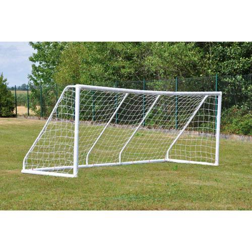 Paire de buts Football mobiles 4 m x 1. 50 m modulable 3 m x 1. 50 m