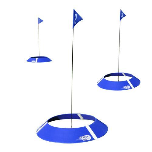 Kit de 3 cibles foot golf Powershot