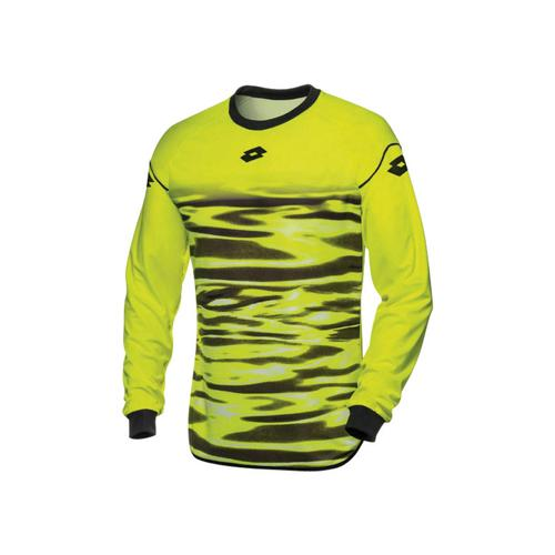 Maillot Lotto GK Cross Jaune Fluo